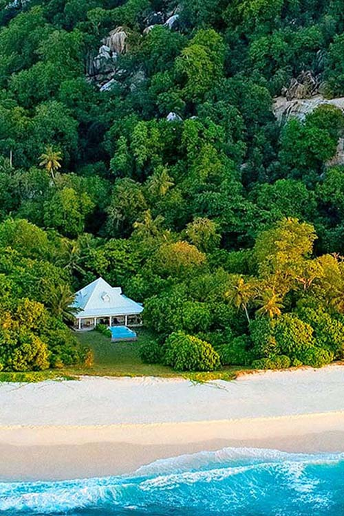 Cousine Island Presidential and Luxury Villas in Seychelles