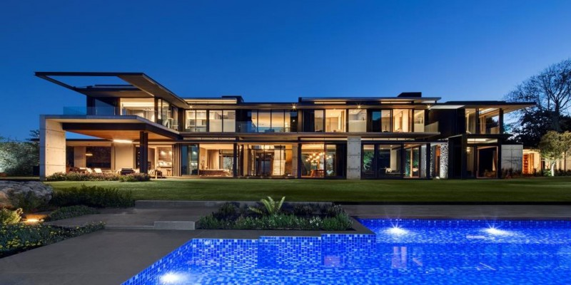6 star Constantia luxury  villa